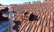 스페니쉬 기와 지붕 시공