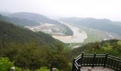 1박2일 촬영지 회룡포-비룡산 산행
